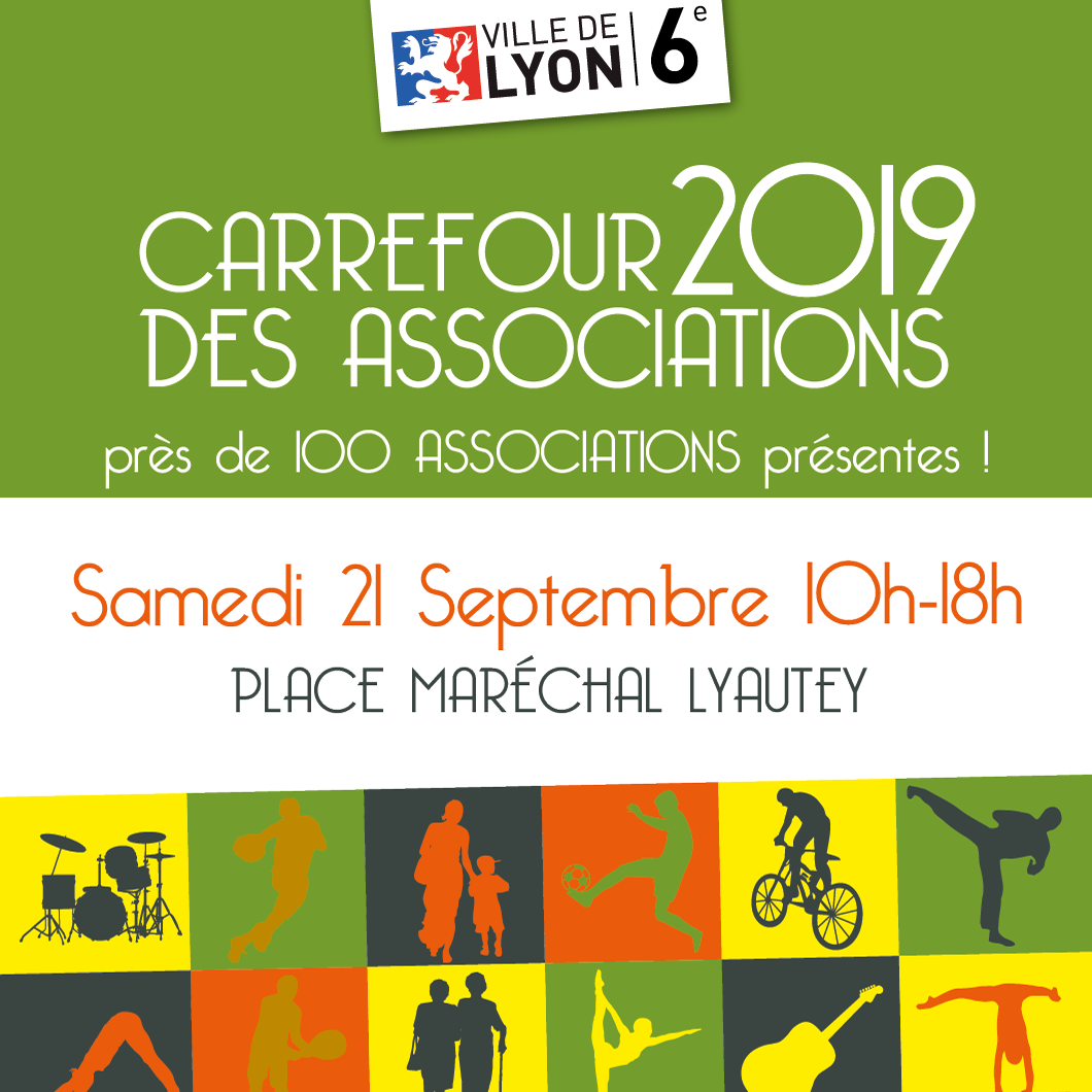 Carrefour des Associations 2019 Lyon 6
